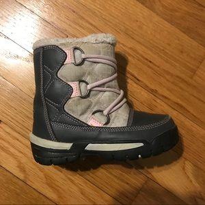 Sorel waterproof toddler snow boots